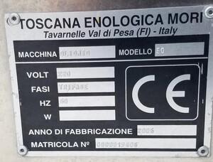 Mori-Tem Olive Press Label